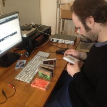 philipp/bruch digitalising our old trost-tapes...