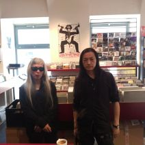 keiji haino & merzbow for digging and espresso in our recordshop Substance